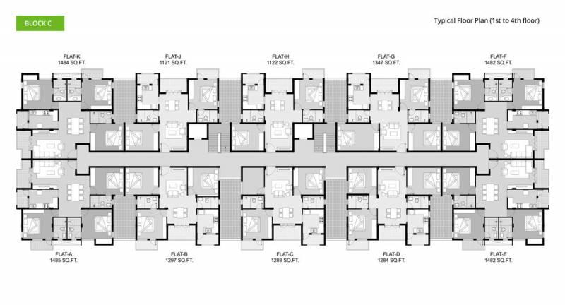 Images for Cluster Plan of BBCL Ashraya