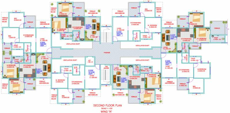 Images for Cluster Plan of Gayatri Imperial Heights
