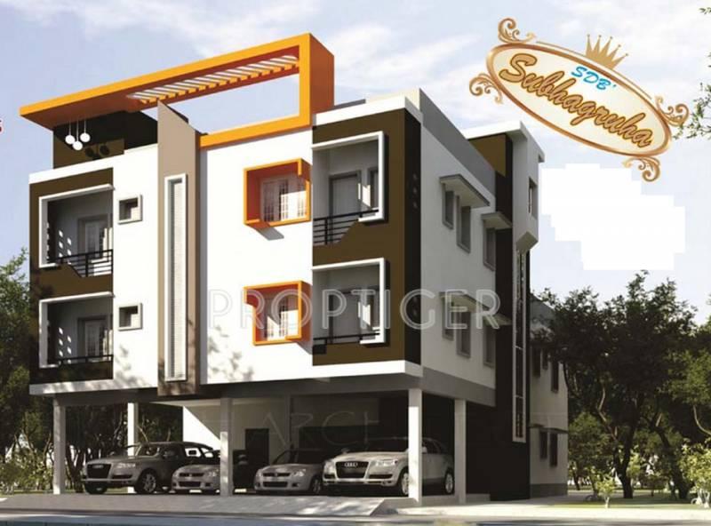 Images for Elevation of Sri Subhagruha
