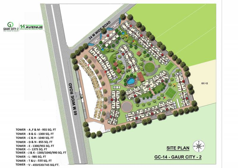 Images for Site Plan of Gaursons 14th Avenue
