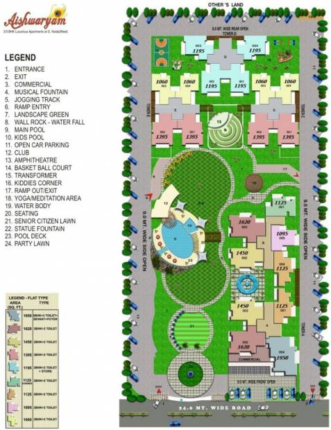 Images for Layout Plan of Wall Rock Aishwaryam