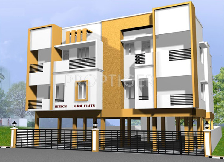Images for Elevation of Hitech Properties GKM Flats