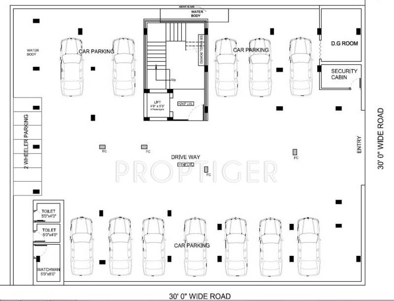 Images for Cluster Plan of VJS Casa Abri