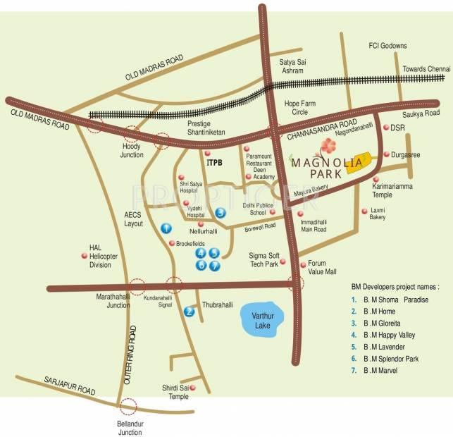 Images for Location Plan of BM Magnolia Park
