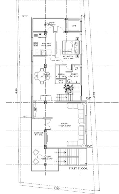 2000 Sq Ft 4 Bhk 4t Villa For Sale In Shriram Gokul