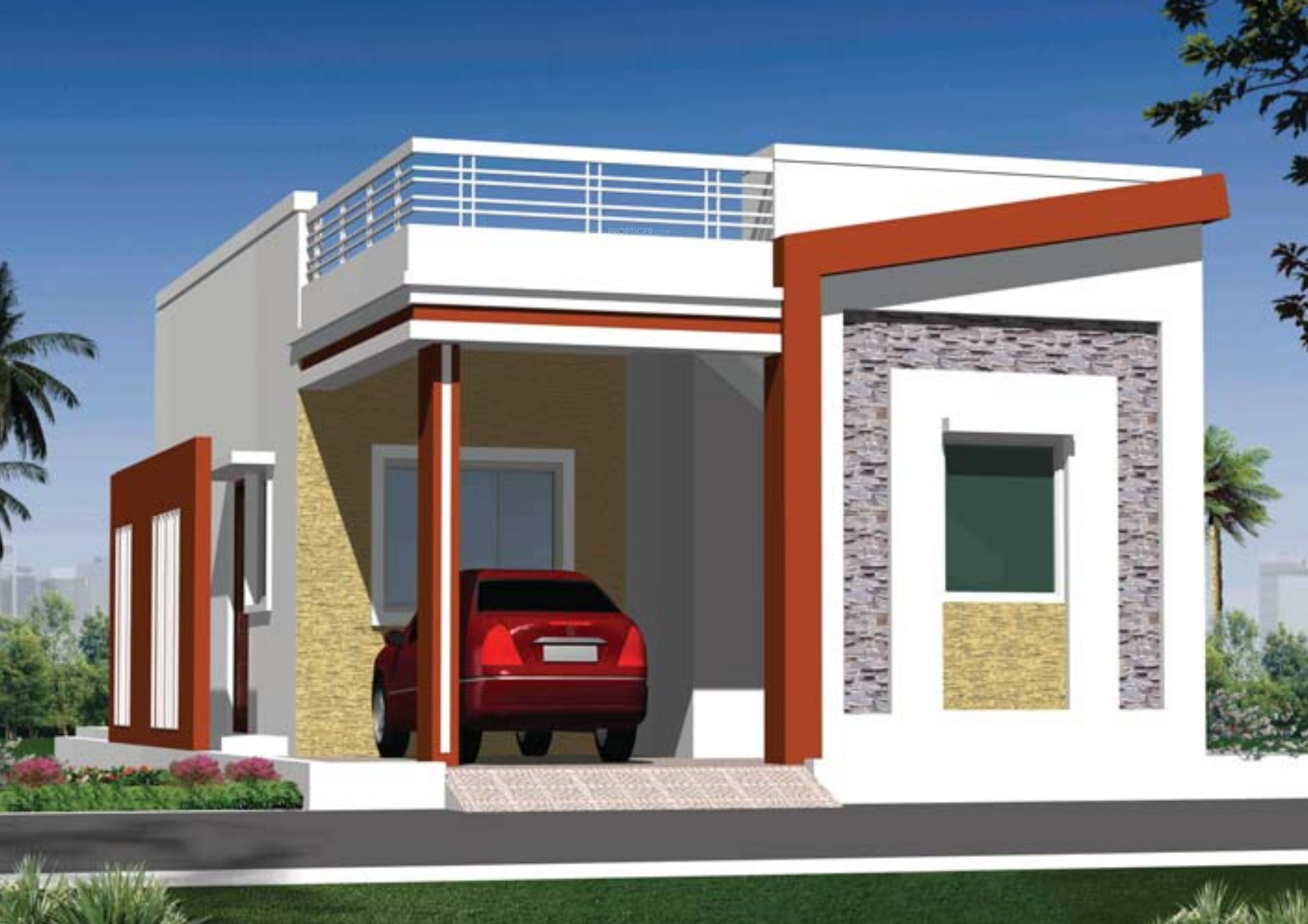 1062 sq ft 2 bhk floor plan image sai srushti sangamam for Four bhk bungalow plan