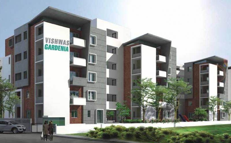 Images for Elevation of Vikram Vishwas Gardenia