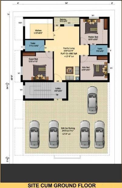 Images for Cluster Plan of Vijay Sri Sai Villa