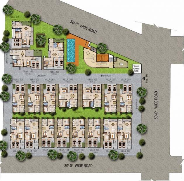 Images for Layout Plan of MMRF Vista Oceana
