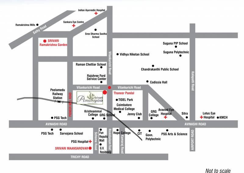 Images for Location Plan of Srivari Ananyaa