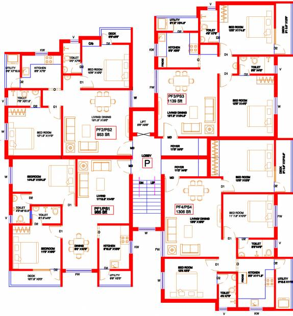 Images for Cluster Plan of Colorhomes Castle