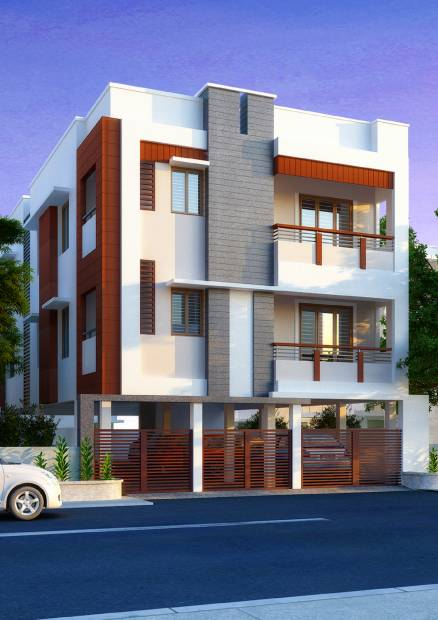Images for Elevation of Colorhomes Abhishekh