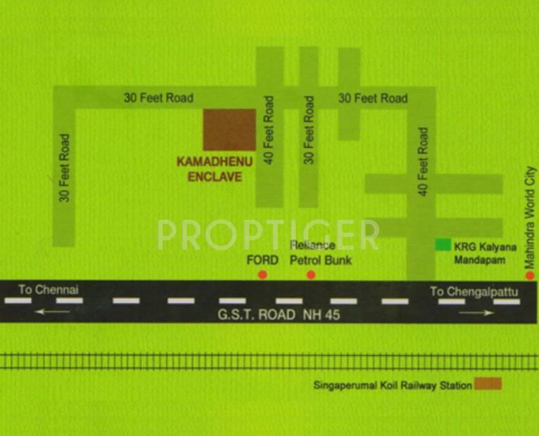 Images for Location Plan of JHL Kamadhenu Enclave