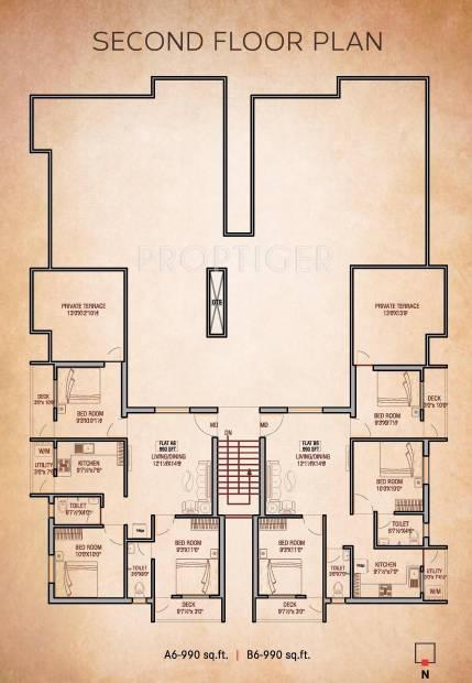Images for Cluster Plan of Oyester Buvanam