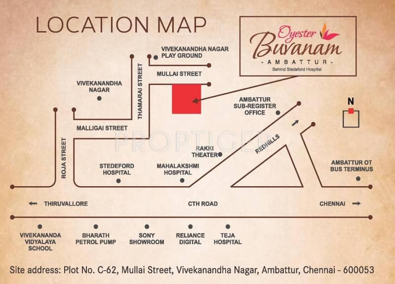 Images for Location Plan of Oyester Buvanam