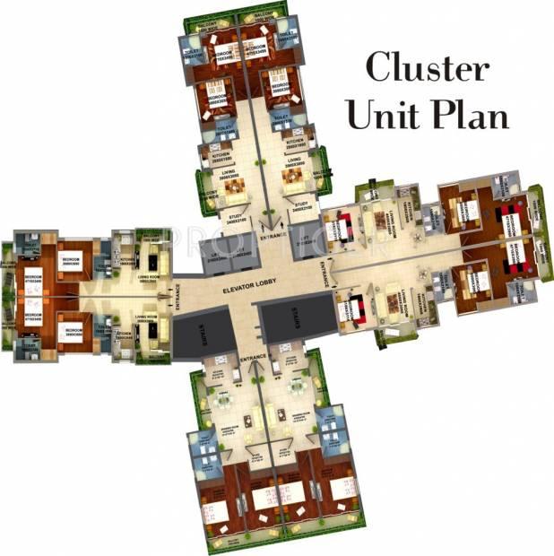 Images for Cluster Plan of Adwik La Casa