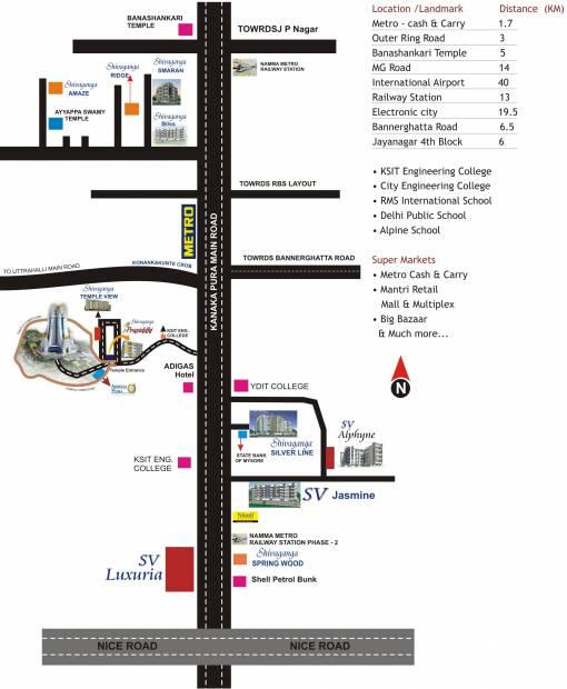 Images for Location Plan of Shivaganga Prasiddhi