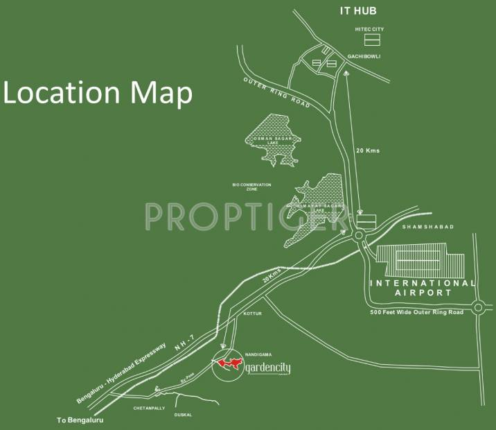 Images for Location Plan of DLF Gardencity