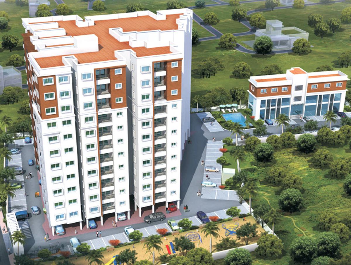 Wood Elevation U : Sq ft bhk t apartment for sale in sri sreenivasa