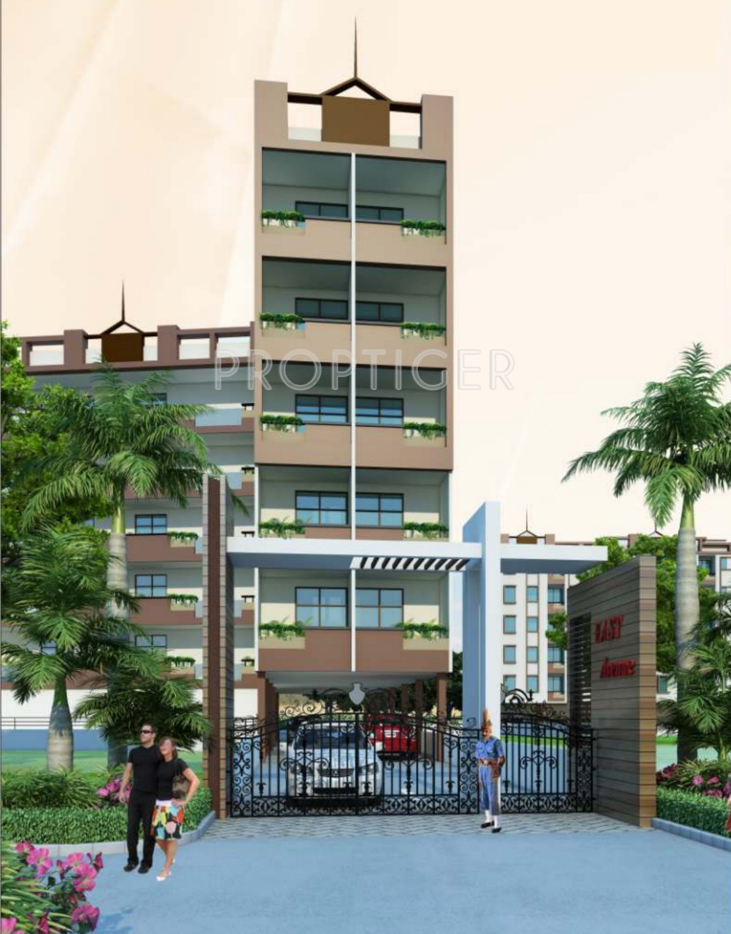 950 sq ft 2 bhk 2t apartment for sale in uday realcon east a