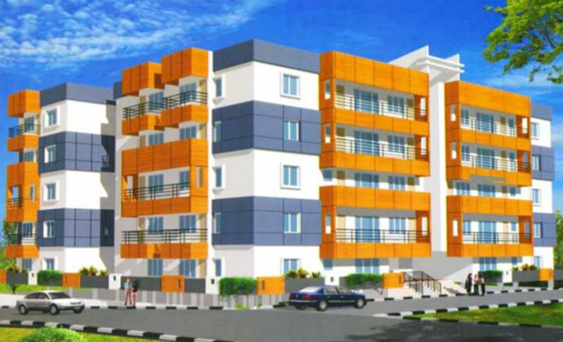 Images for Elevation of Indu Builders Lake View