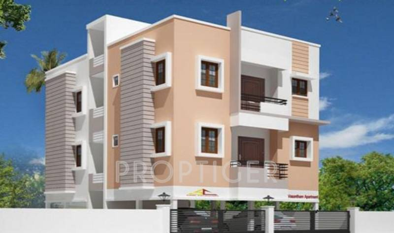 vasantham-apartment Elevation