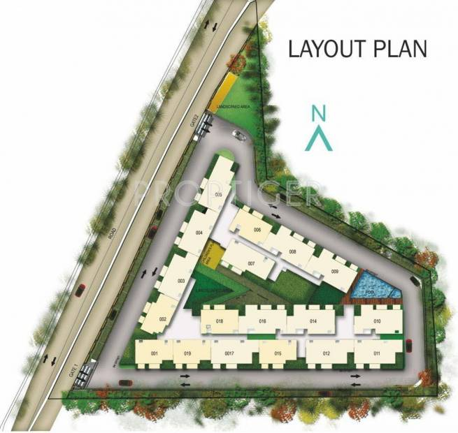 Images for Layout Plan of Unishire Verzure
