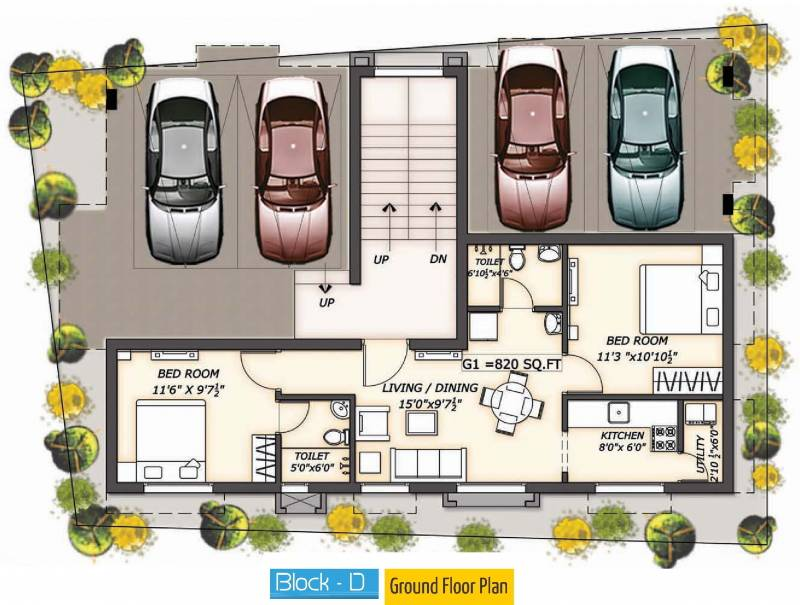 Images for Cluster Plan of Darshan Foundation Kumaragam