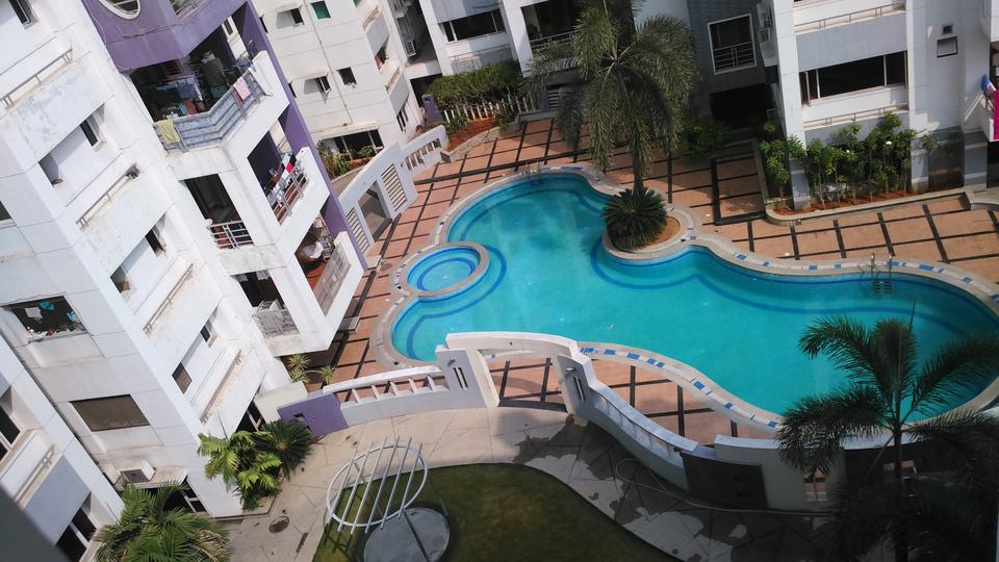 2350 sq ft 3 bhk 3t apartment for sale in sri aditya elite - Swimming pool construction cost in hyderabad ...