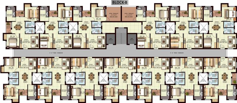 Images for Cluster Plan of Vijay Raja Century Court