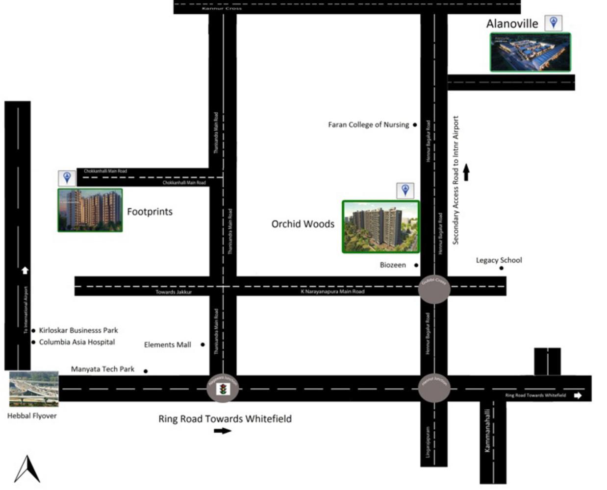 Sch 252 co upvc windows german quality - Goyal Footprints By Goyal And Co Hariyana Group In Jakkur Bangalore Price Location Map Floor Plan Reviews Proptiger Com