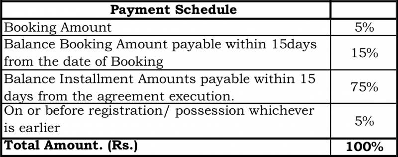Images for Payment Plan of Goyal Footprints