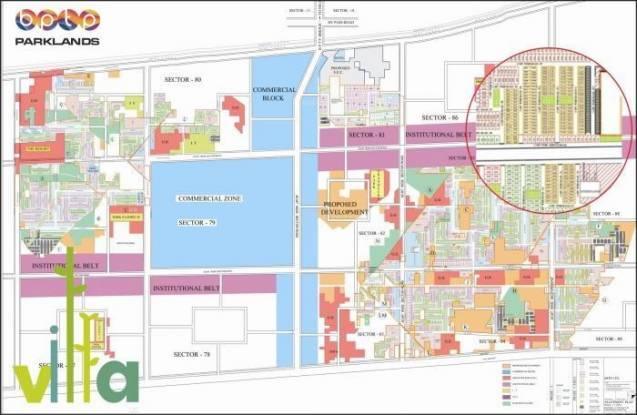 parkland-villas Master Plan
