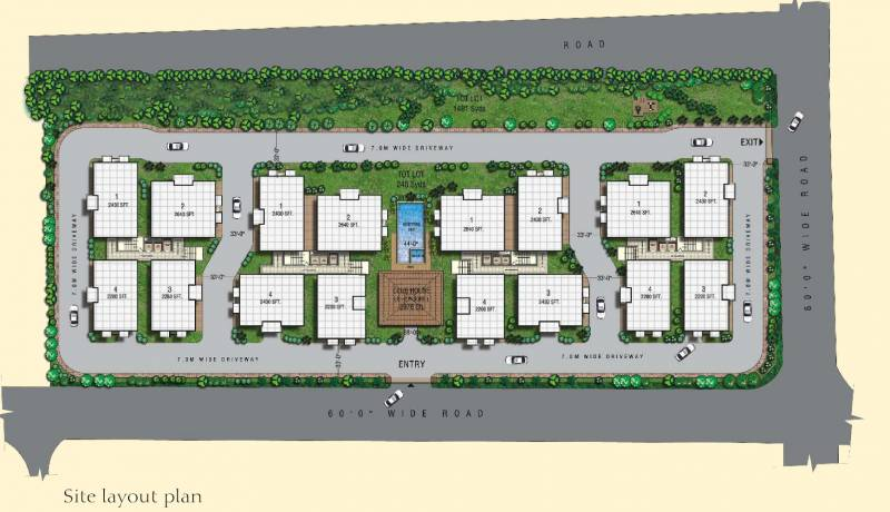 Images for Layout Plan of Aditya Ocean Heights