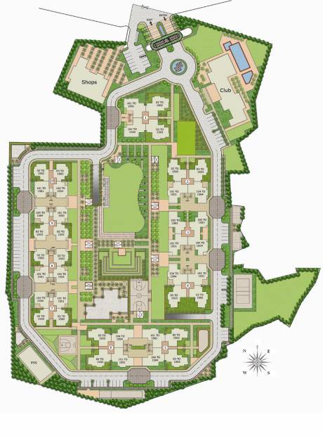 Images for Layout Plan of Vipul Gardens