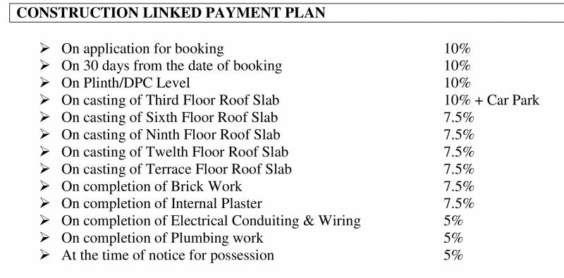 Images for Payment Plan of Vipul Gardens