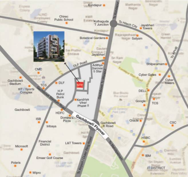 Images for Location Plan of RSRPPL Sai Serenity