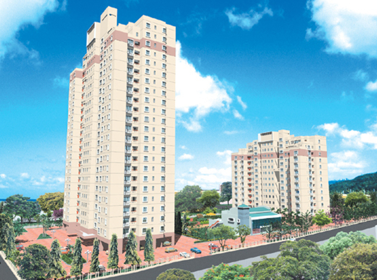 layout plan image of sureka group sunrise towers for sale