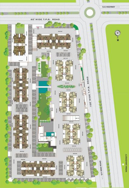 Images for Site Plan of Ganesh Malabar County