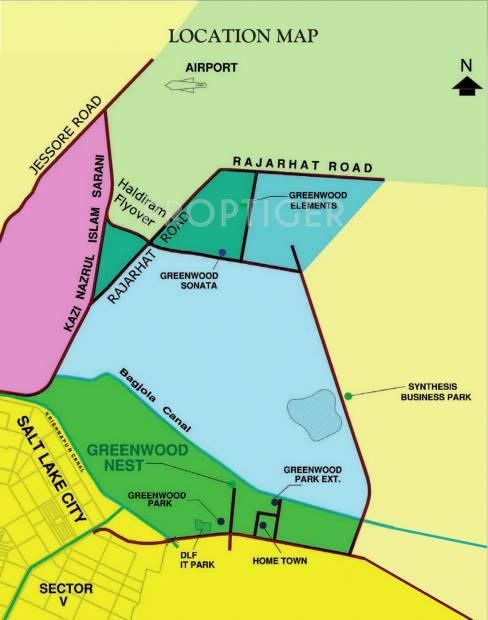 Images for Location Plan of Shrachi Greenwood Nest