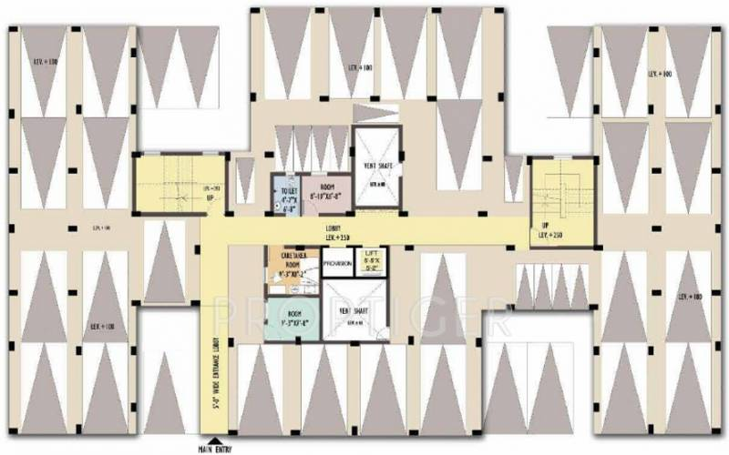 greenview Images for Cluster Plan of Shrachi Green View