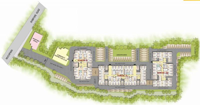 greenview Images for Master Plan of Shrachi Green View