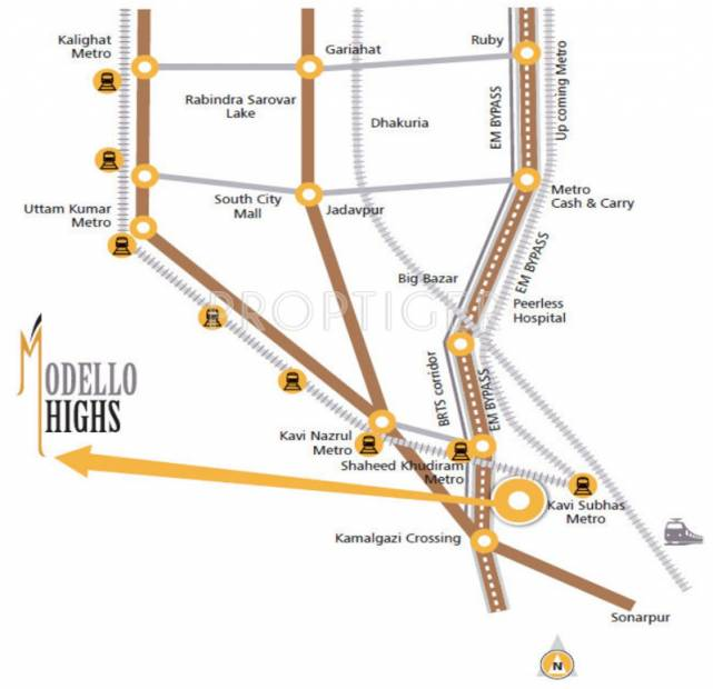 Images for Location Plan of Modello Highs