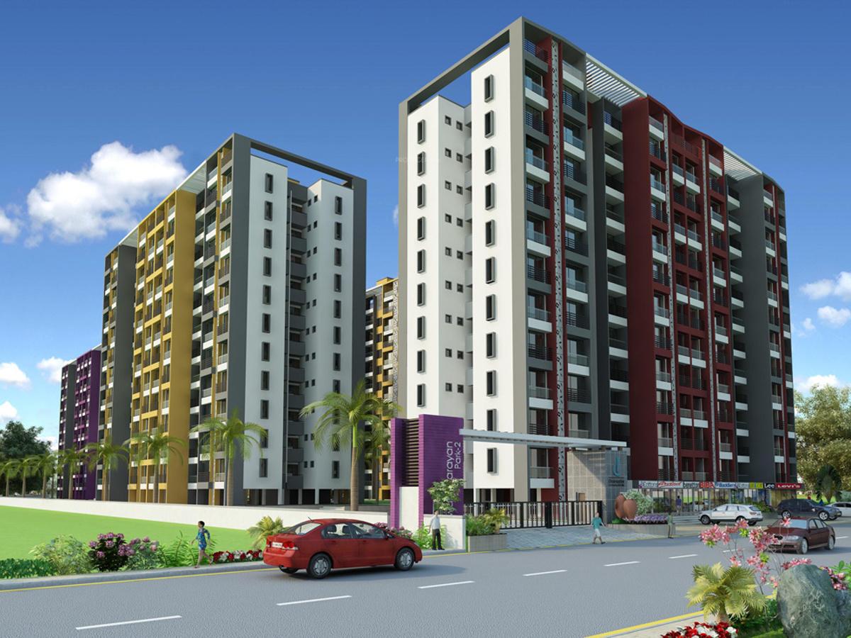 dharmadev infrastracture pvt ltd swaminarayan park 2 elevation 732171