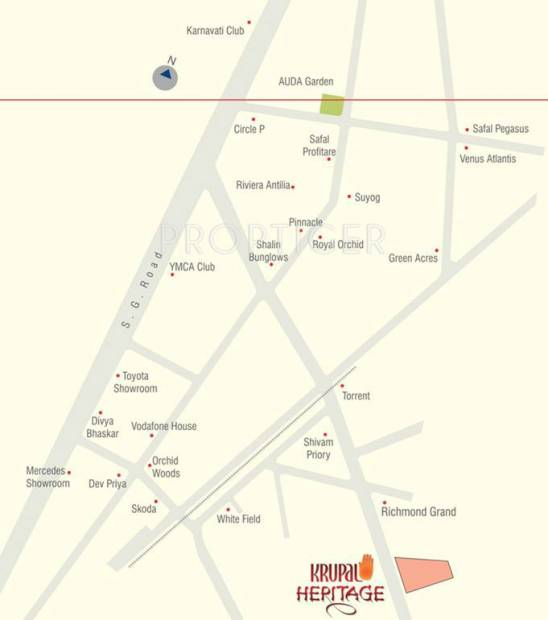 Images for Location Plan of Narayan Heritage
