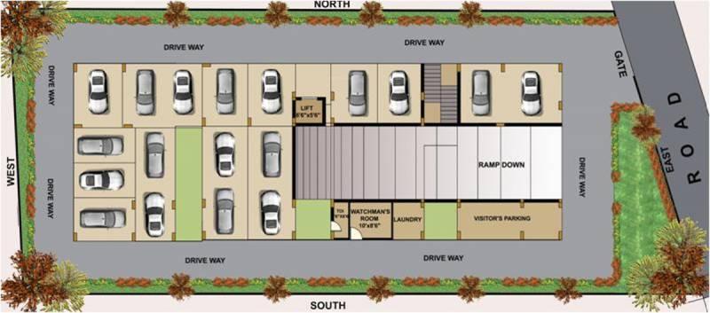 Images for Cluster Plan of Gharonda Jyothi