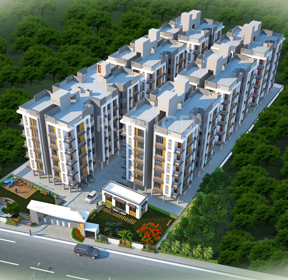 1381 Sq Ft 4 Bhk 4t Apartment For Sale In Galaxy Group
