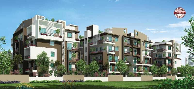 Images for Elevation of Aakruthi Serenity