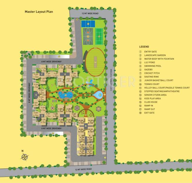 sporcia Images for Layout Plan of Arvind Sporcia