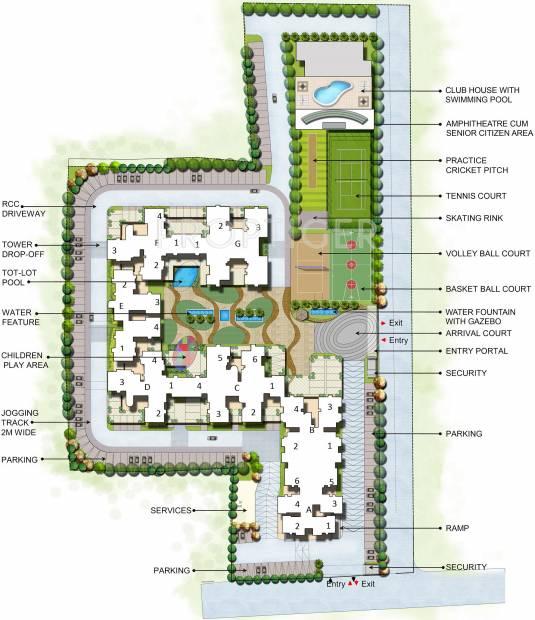Images for Master Plan of Arvind Sporcia